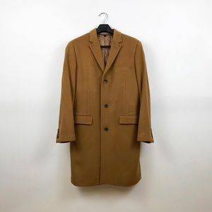 J.Crew Ludlow topcoat in premium wool-cashmere.